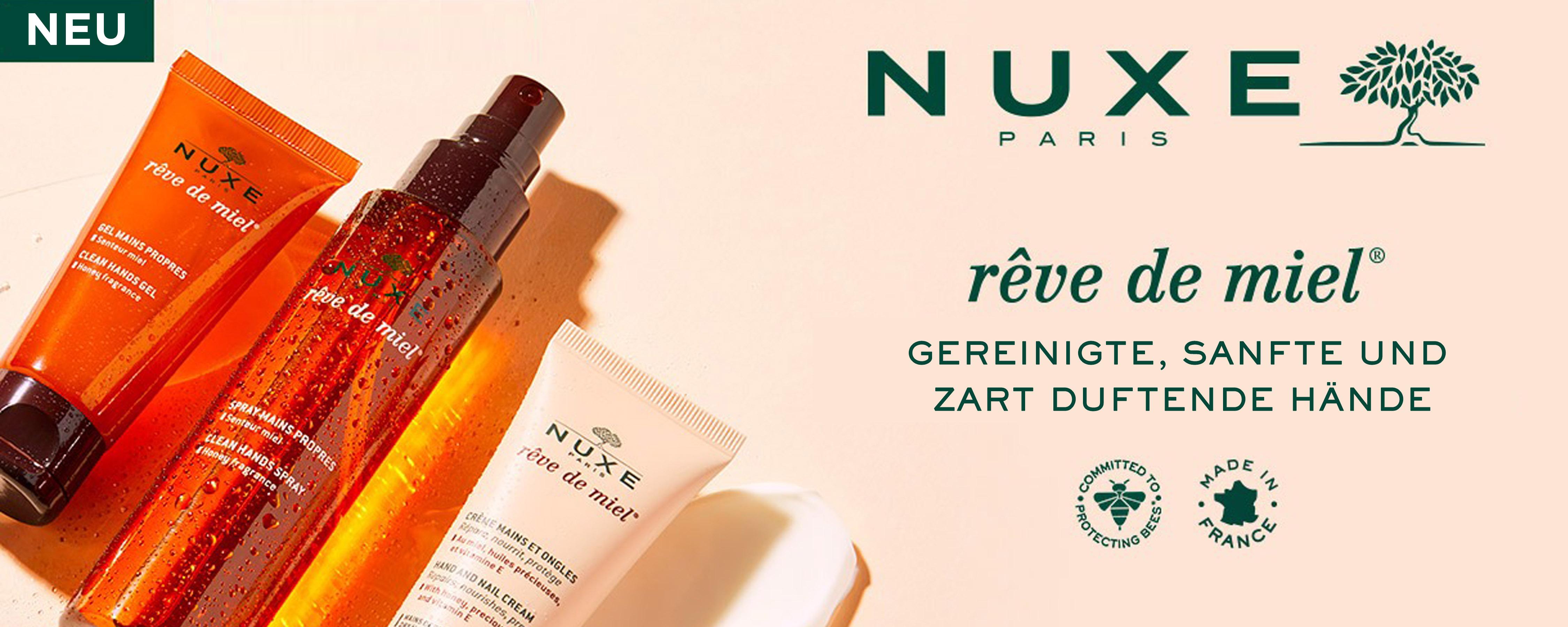 NEU - NUXE Reve de Miel Clean Hands Gel