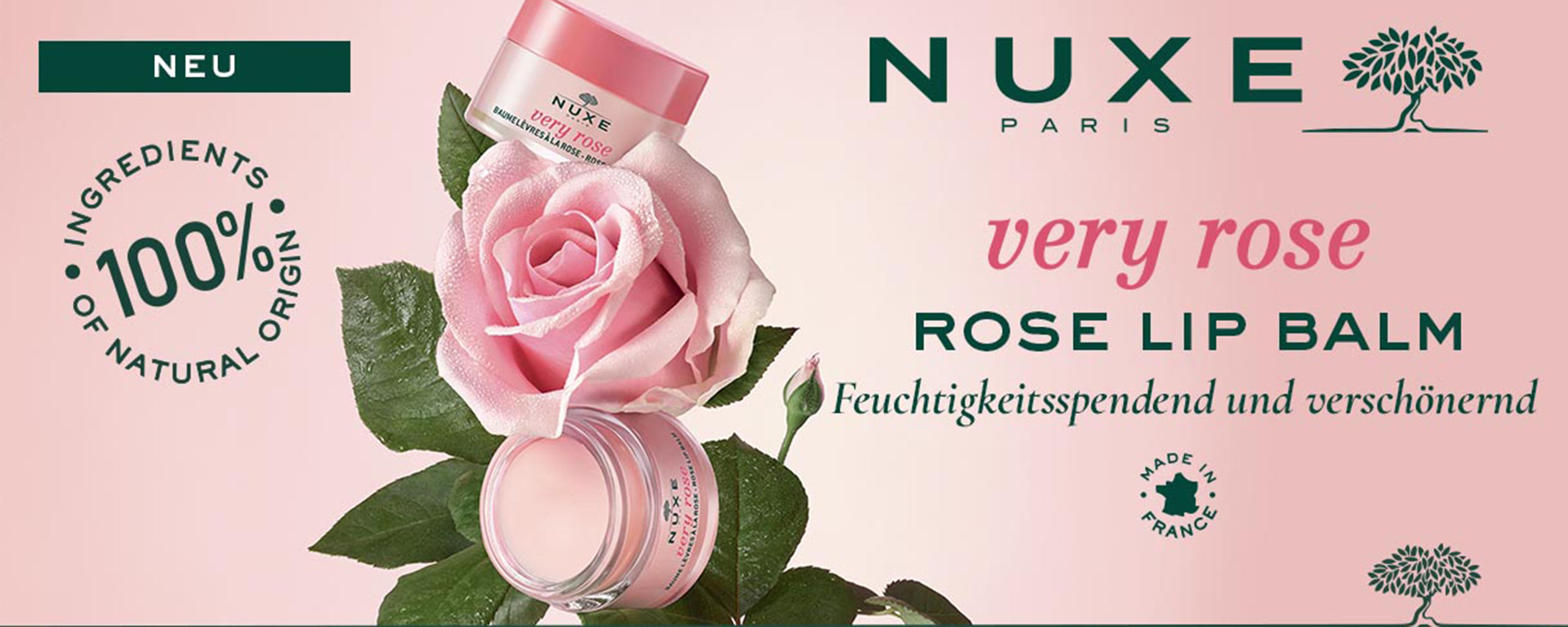NEU - NUXE VERY ROSE Rose Lip Balm